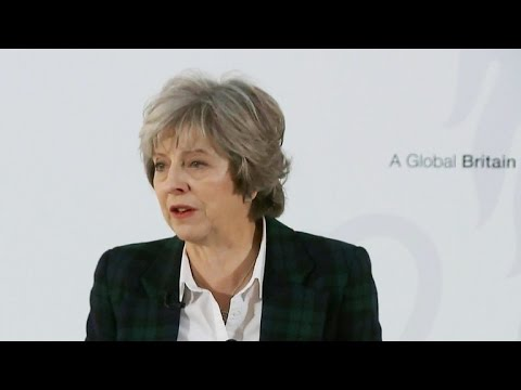 British Prime Minister outlines Brexit plan