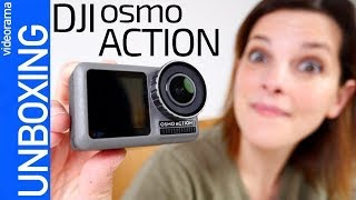 DJI Osmo Action unboxing -GUERRA contra GoPro-