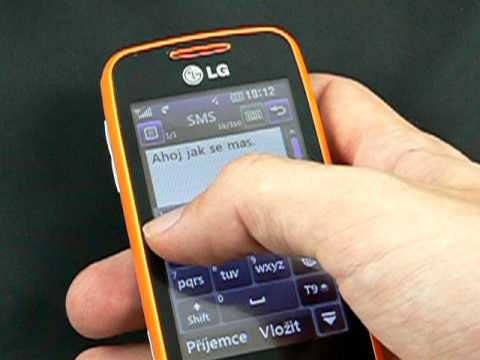 LG GS290 Cookie Fresh - zprávy
