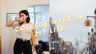Week in my Life As A College Student in NYC
