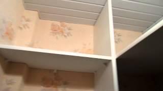 Стеллаж в гардеробной(Изготовление стеллажей и полок. Стеллаж была установлены в небольшой гардеробной комнате. Назначение -..., 2015-01-20T14:27:10.000Z)