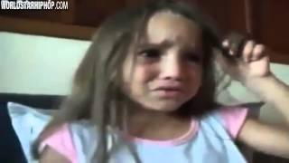 Little Girl Crying Because She Wants To Be Black!