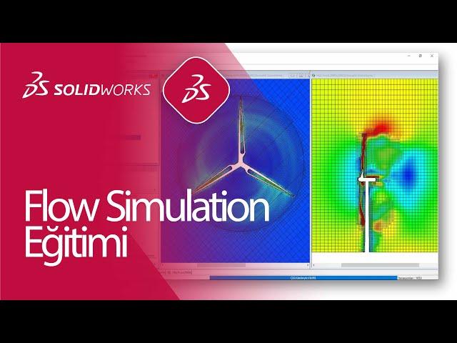 SOLIDWORKS Flow Simulation Eğitimi / DERİNLEMESİNE SANAL RÜZGAR TÜNELİ AKIŞ ANALİZİ