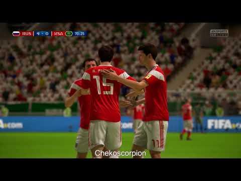 FIFA 18 RUSIA VS ARABIA SAUDITA 5 0