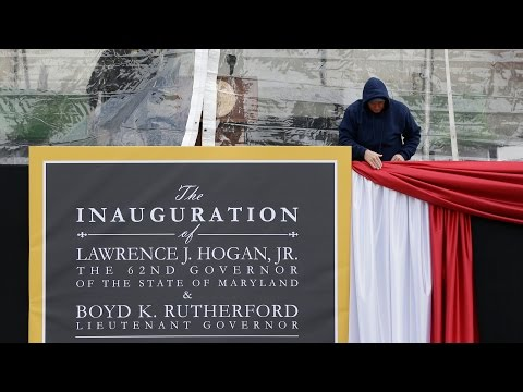 2015 Maryland Inauguration Day