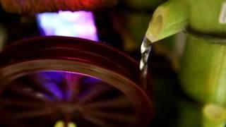 Bamboo Waterwheel Fountain