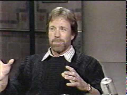 Chuck Norris on Letterman, 2/4/88