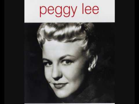 'Deed I do Peggy Lee
