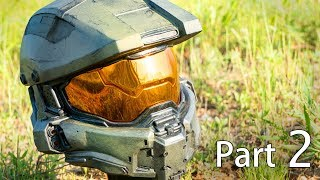 Building Master Chief | Part 2 - Finishing The Helmet