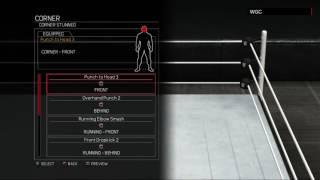WWE 2K17:Apollo Crews moveset(Xbox 360/PS3)