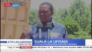 Gavana Alfred Mutua amemtaka Rais Uhuru kuwataja wanaoshiriki ufisadi