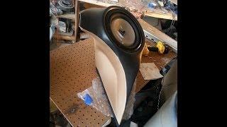 Curved Fiberglass Sub Enclosure For 350z