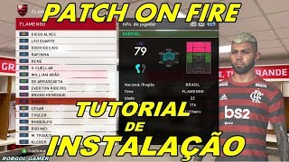PATCH ONFIRE - INSTALAÇÃO PASSO A PASSO - PES 2018 - XBOX 360