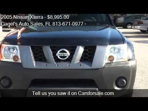2005 Nissan Xterra for sale in Gibsonton, FL 33534 at the Ga