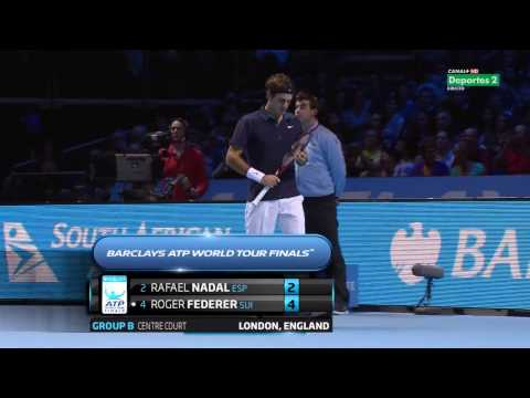 Rafael Nadal vs Roger Federer Full Match ATP World Finals 2011 (HD)