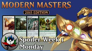 Modern Masters 2015 Spoilers: Mox Opal, Daybreak Coronet, Noble Hierarch, and more!