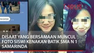HEBOH! Video Mesum Siswi SMA N 1 Samarinda Beredar
