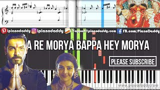 Danka Baja Piano Cover Mumbai Saga - John Abraham - Keyboard Piano Tutorial