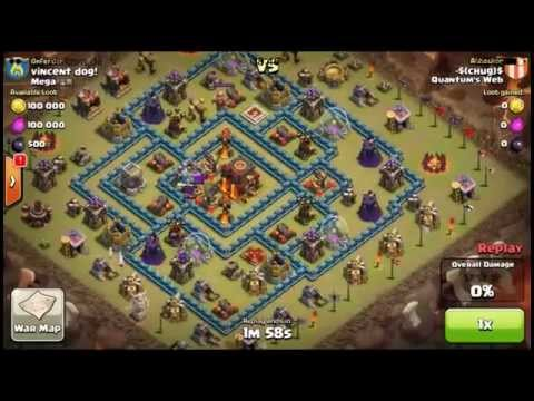 EPIC CLAN WAR - How QUANTUM'S WEB destroyed Mega with 96 - 93 - best clan war in history