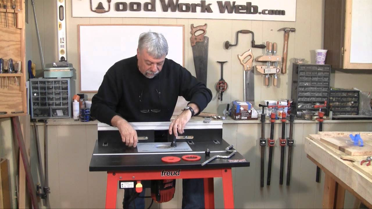 Woodworking freud router and router table review youtube keyboard keysfo Gallery