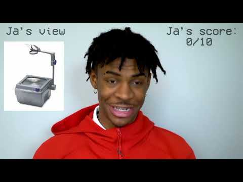 Ja Morant Tries to Name Throwback Items from the 90s