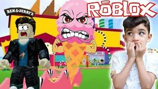 Roblox - ESCAPE DA SORVETERIA MALUCA (Escape The Ice Cream Shop Obby) - Sorvete Maluco - Rocha Games