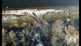 Dam Breach At Wilmington Duke Energy Plant - Toxic Waste Spilling into Cape Fear River