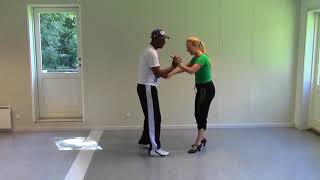 Salsa Cubana with Stine Ortvad and Felix - 4 part without music
