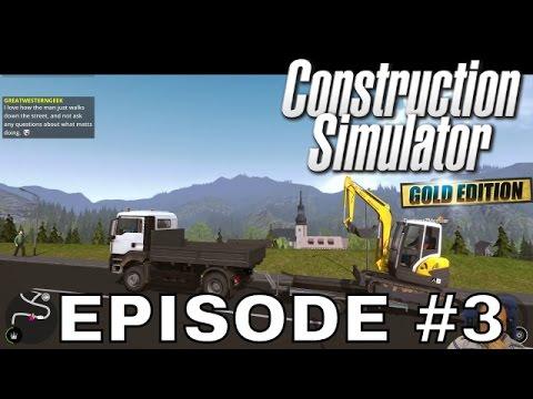 12 Hour Birthday Stream Part 4 - Construction Simulator - Episode #3