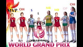 Awards Ceremony Volleyball Women