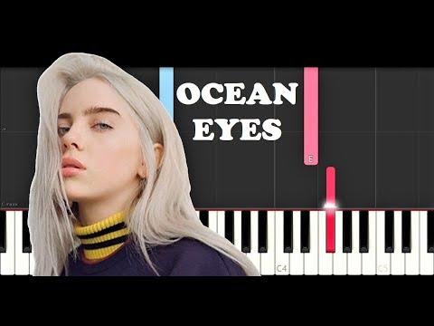 Billie Ellish - Ocean Eyes (Piano Tutorial)