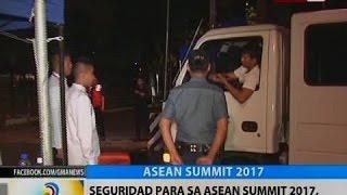 BT: Seguridad para sa ASEAN Summit 2017, mas pinaigting