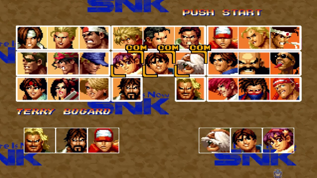 The king of fighters 39 95 all characters psx youtube - King of fighters characters pictures ...