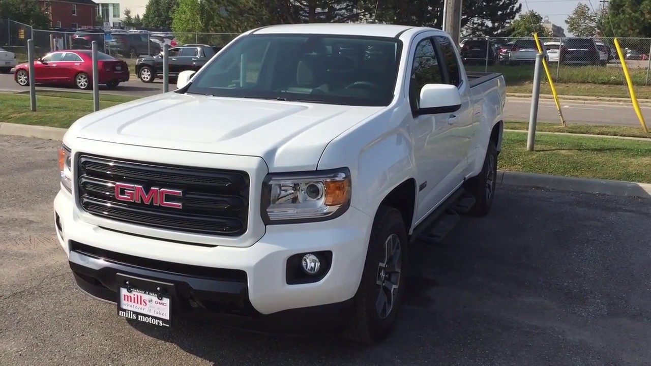 2018 Gmc Canyon All Terrain Extended Cab Spray On Box Liner Oshawa Stock 180184