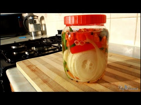 Jamaican Escovitch Fry Fish Sauce (Pickle) | Recipes By Chef Ricardo