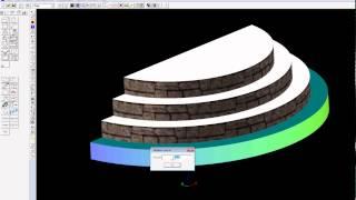 Урок моделирования лестницы в программе Дом-3D
