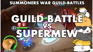 SUMMONERS WAR : Guild Battle Vs SuperMew (Yaku, Rina, Antares, and more)