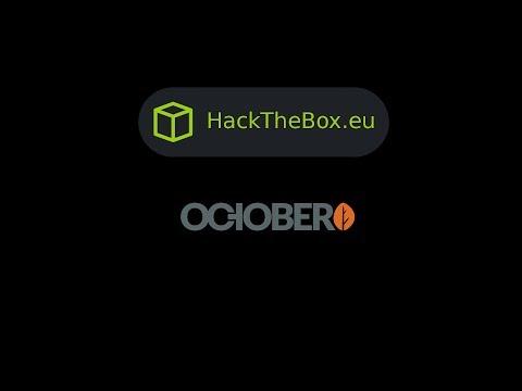 HackTheBox - October