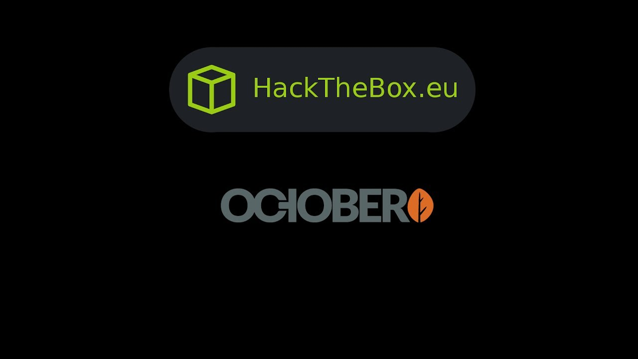 HackTheBox - October