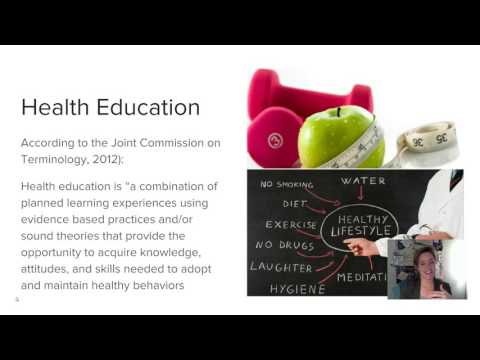 PH562 Lecture #1 - Health Education vs. Health Promotion