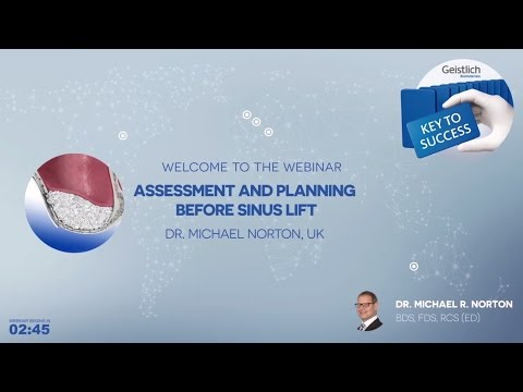 Geistlich Webinar_Sinus Lift - Dr. Michael Norton
