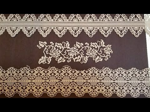 How to make edible lace.