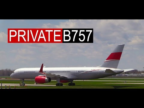 JETMAGIC | PRIVATE Boeing 757 Spotted at Montreal Airport
