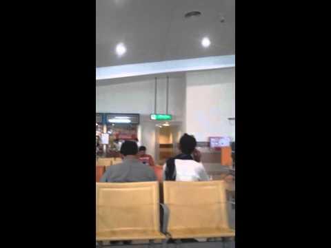 Multan airport inside