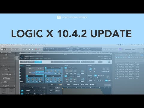 Logic X 10.4.2 - Top New Features