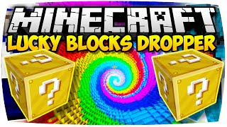 MINECRAFT: LUCKY BLOCKS DROPPER | Nunan » Lucky Block Mod Deutsch