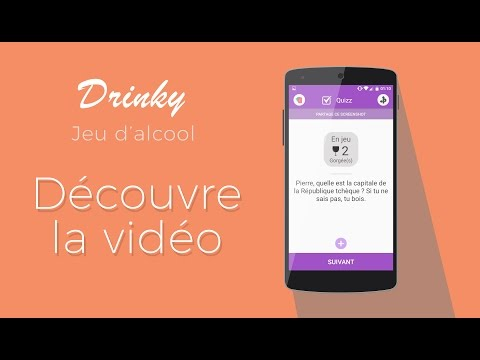 drinky jeu d 39 alcool jeu boire en soir e apps on google play. Black Bedroom Furniture Sets. Home Design Ideas