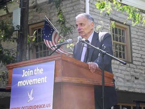 "Ralph Nader - Occupy Peace - ""Wage Peace"""