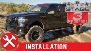 2009-2014 F-150 4WD Zone Offroad 6 inch Lift Kit Install