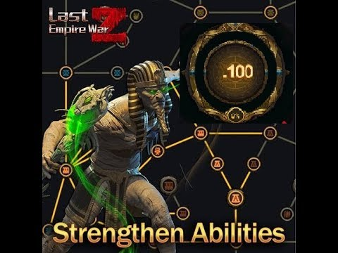 Last Empire War - Z : How To Increase Level Strengthening Abilities In The Oasis. At A High Level.